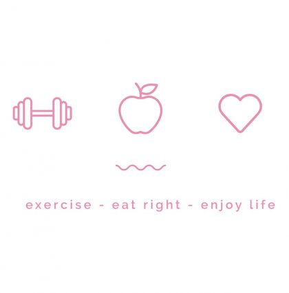 Exercise Eat Right Enjoy Life - Amy Van Liew